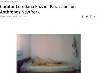 Curator Loredana Pazzini-Paracciani on Anthropos New York