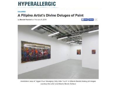 A Filipino Artist's Divine Deluges of Paint