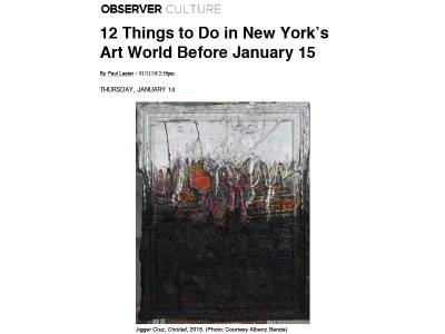 12 Things to Do in New York's Art World Before January 15